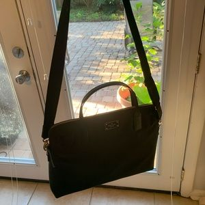 Kate Spade Black Laptop Bag - like new
